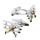 more details on Two Tone Tri-Plane Cufflinks.