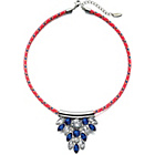 more details on Fiorelli Blue Crystal Neon Woven Necklace.