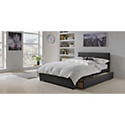 more details on Hygena Heston Kingsize Bed Frame - Black.