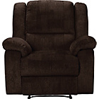 more details on Collection Shelly Manual Recliner Chair - Chocolate.