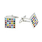 more details on Multi Colour Chess Board Cufflinks.
