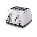 more details on De'Longhi Micalite 4 Slice Toaster - White.