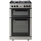 more details on Bush BED50S Double Electric Cooker - Silver/Exp Del.
