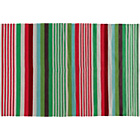more details on Habitat Palak Multicoloured Cotton Flat Weave Rug - Small.