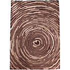 more details on Unique Cyclone Rug - 120 x 180cm - Brown.