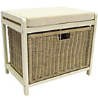 more details on Hamper Storage Bench - Cream.