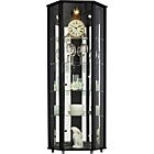 more details on HOME Corner Glass Display Cabinet - Black.