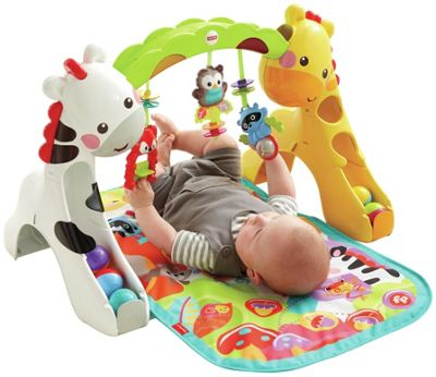 3 FUNCTIONS IN 1: playard, activity center and napper bed, gives baby the fun and comfort of home, while out at the beach, park or just the backyard.
