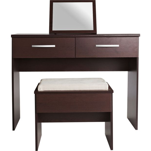 Buy collection new hallingford dressing table wenge effect at your online shop - Dressing wenge ...