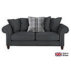 more details on Heart of House Windsor Large Fabric Sofa - Charcoal.