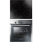 more details on Hoover HPRECM7 Electric Oven with Ceramic Hob - S Steel