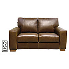 more details on Heart of House Eton Regular Leather Sofa - Tan.