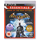 more details on Batman Arkham Asylum Game of the Year PS3 Game.