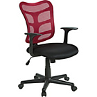 more details on Gas Lift Mesh Office Chair - Red.