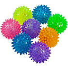 more details on Flashing Spike Balls Party Fillers - Pack of 8.