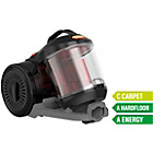 more details on Vax C85-EW-BE Bagless Cylinder Vacuum Cleaner.