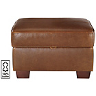 more details on Heart of House Salisbury Leather Footstool - Tan.