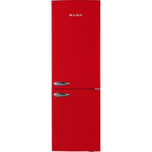 Bush BFFF60 Retro Fridge Freezer- Red