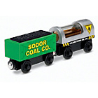 more details on Thomas and Friends Wooden Railway Diesel and Steamie 2 pack.