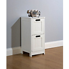 more details on Mountrose Colonial 2 Drawer Storage Unit - White.