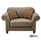 more details on Heart of House Windsor Cuddle Fabric Sofa - Heather