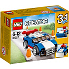 more details on LEGO Creator Blue Racer - 31027.