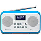 more details on Roberts Radio Play Duo Digital Radio - Light Blue.