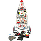 more details on Hape Discovery Spaceship and Lift Off Rocket.
