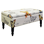 more details on Butterfly Storage Ottoman.