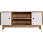 more details on Foley TV Unit - Two Tone Solid Wood.