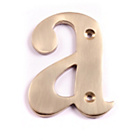 more details on House Nameplate Company Brass Letter Plaque - a.
