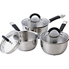 more details on Ready Steady Cook Bistro 3 Piece Pan Set.