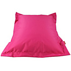 more details on Large Square Beanbag Floor Cushion - Pink.