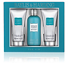 more details on Baylis & Harding 3 Piece Men's Citrus Lime and Mint Gift Set