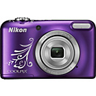 more details on Nikon Coolpix L31 16MP 5xZoom Compact Digital Camera-Purple.