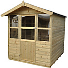 more details on Forest Charlbury Wooden Summerhouse - 6 x 6ft.