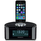 more details on Roberts Radio Dreamdock 2 Digital Clock Radio - Black.