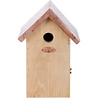 more details on Fallen Fruits Blue Tit Nest Box with Copper Roof.