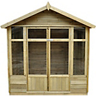 more details on Forest Tetbury Wooden Summerhouse - 5 x 7ft.