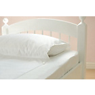 more details on Gro to Bed Spare Cot Bed Sheet - White.