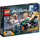 more details on LEGO® Agents Invisable Gold Getaway Toy - 70167