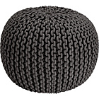 more details on Heart of House Cotton Knitted Pod - Grey.