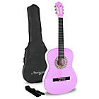 more details on Martin Smith 1/2 Classical Guitar Pack - Pink.