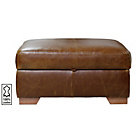 more details on Heart of House Eton Leather Footstool - Tan.