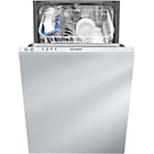 more details on Indesit DISR14BUK Integrated Slimline Dishwasher - White.