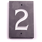 more details on House Nameplate Company Slate Number Plaque - 2.