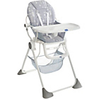 more details on Chicco Pocket Lunch Highchair - Silver.