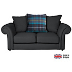 more details on Heart of House Windsor Regular Fabric Sofa- Charcoal & Azure