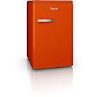more details on Swan SR1103ON Retro Larder Fridge - Orange.