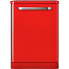 more details on Bush DWFS124R Retro Dishwasher- Red/Exp Del.